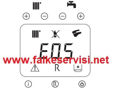 Falke Kombi E05 Hatası Falke Kombi E 05 Arıza Kodu ve Cözümü