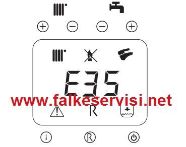 Falke Kombi E35 Arıza Kodu ve Çözümü