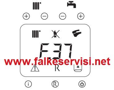 Falke Kombi F37 Hatası Falke Kombi F37 Arıza Kodu ve Cözümü